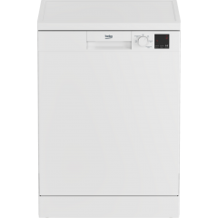 Beko DVN05C20W Full Size 13 Place Settings White Dishwasher - A++ Energy Rated