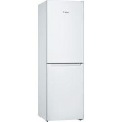 Bosch KGN34NWEAG Frost Free White Fridge Freezer - A++ Energy Rated