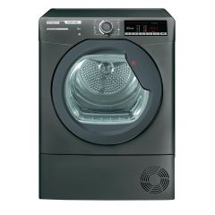 Hoover HLXC8TRGR 8Kg Condenser Graphite Tumble Dryer - B Energy Rated