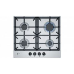 Neff T26DS49N0 60Cm 4 Burner Gas Hob, Cast Iron Supports, Flame Select