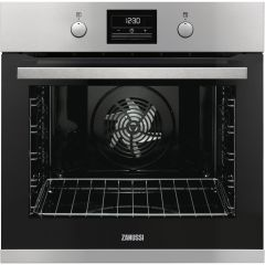 Zanussi ZOP37982XK Built In Single Electric Pyrolytic Stainless Steel Oven